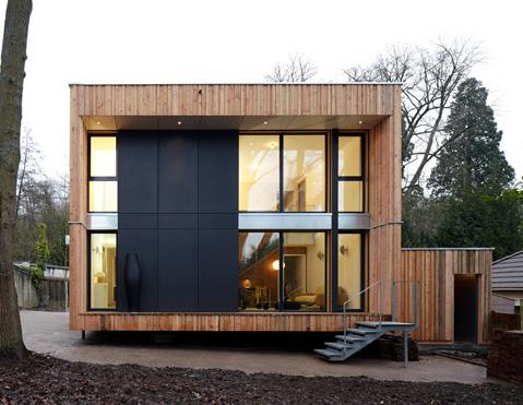 Maison en cubes Bois 2 Pinterest Cubes