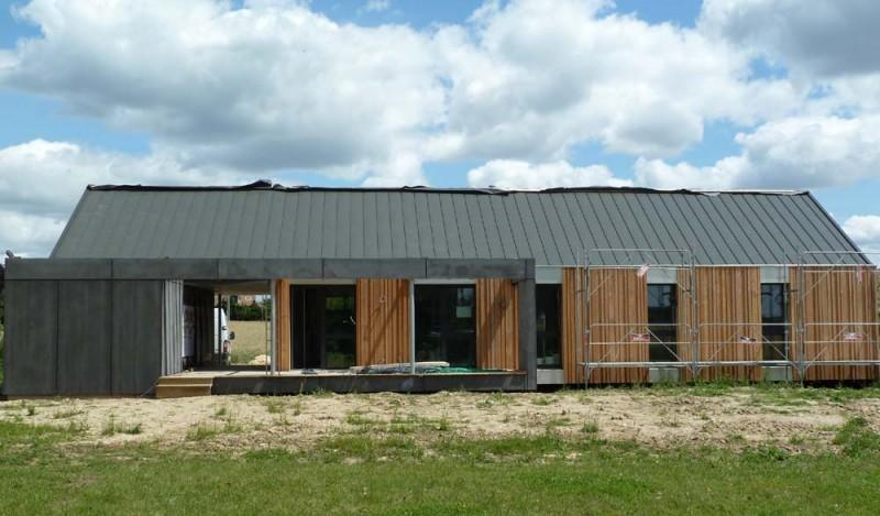 Première maison en bois so\'BOIS, constructeur de maisons en bois